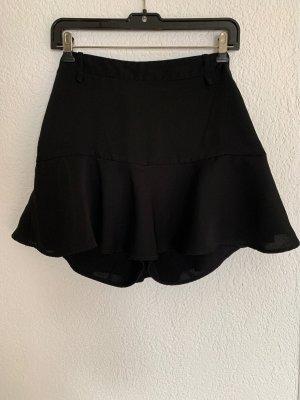 Zara Basic Gonna culotte nero