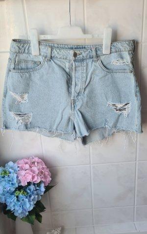 H&M Hot Pants azure