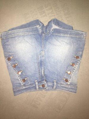 H&M Shorts argento