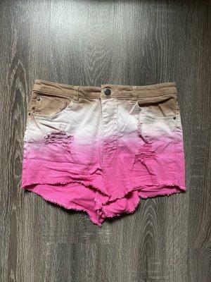 H&M Pantaloncino a vita alta multicolore