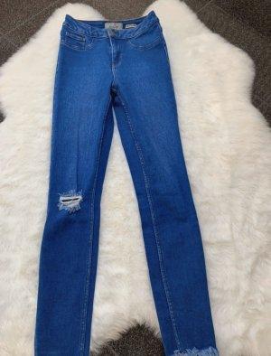 New Look Jeans a vita alta blu