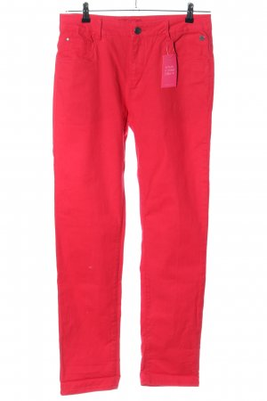 High Waist Jeans rot Casual-Look