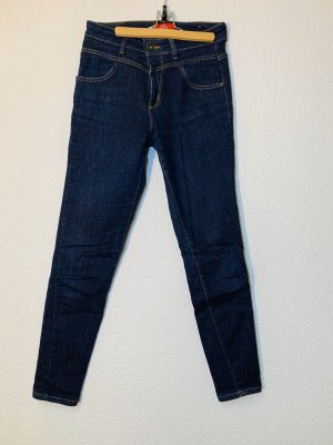 s.Oliver Hoge taille jeans donkerblauw