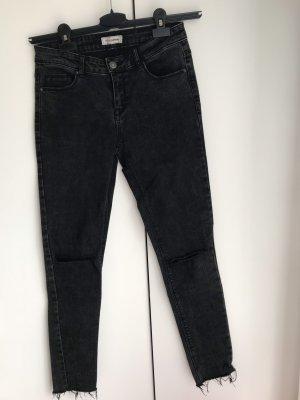 High-Waist Jeans 7/8 Länge