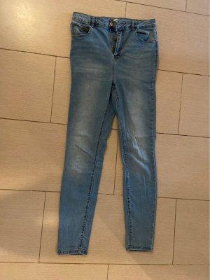 Pimkie Jeansy z wysokim stanem niebieski