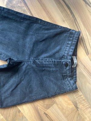 Denim Co. Pantalon taille haute noir-gris
