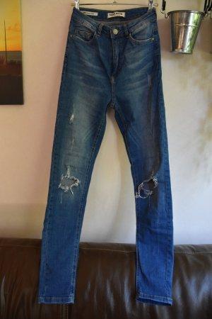 high-waist Jeans