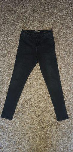 Denim Co. Hoge taille jeans zwart