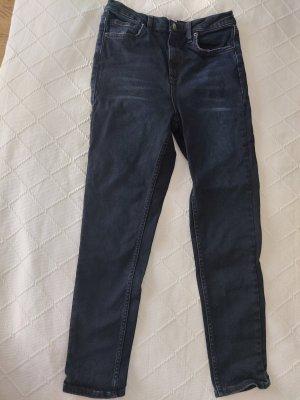 BDG Jeans a vita alta blu scuro