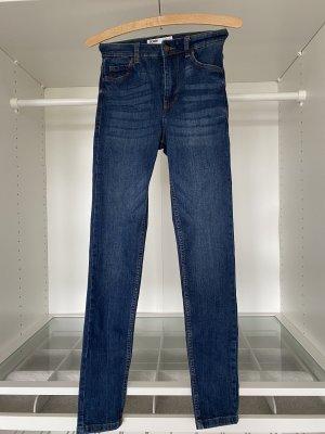 High Waist Jeans dunkel