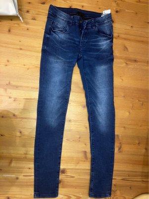 High waist Jeans dunkel blau