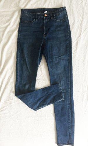 H&M Divided Hoge taille broek veelkleurig Gemengd weefsel