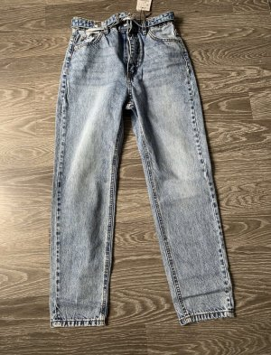 Stradivarius Jeans boyfriend gris ardoise