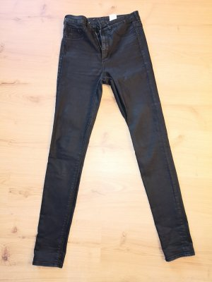 High Waist Jeans in schwarz