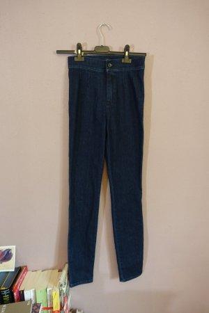 High Waist Jeans, Jeggings, Dolce & Gabbana, blau, neu, Stretch