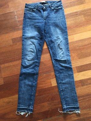 Karl Lagerfeld Hoge taille jeans blauw