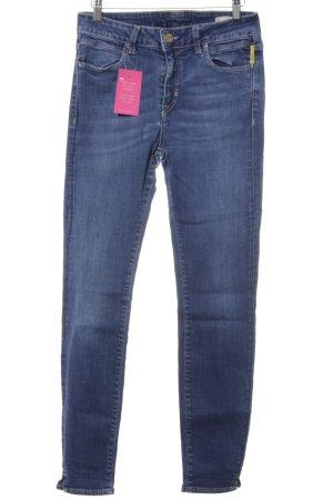 High Waist Jeans kornblumenblau-stahlblau Casual-Look