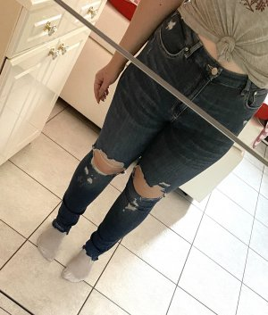 High waist Jeans Ripped