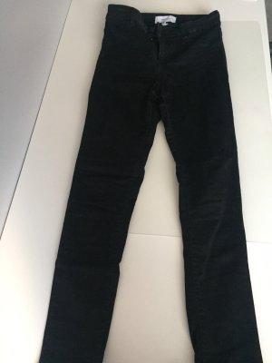 Mango Jeans taille haute noir