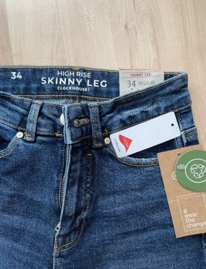 C&A Clockhouse Skinny jeans donkerblauw