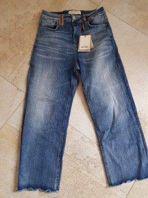 High Waist Jeans, verkürzte Länge NEU