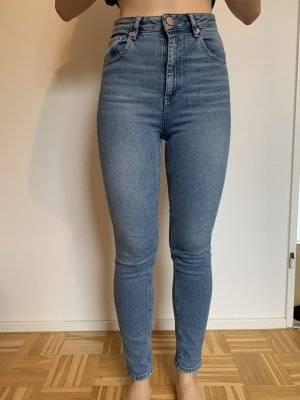 Asos Denim High Waist Jeans blue-light blue