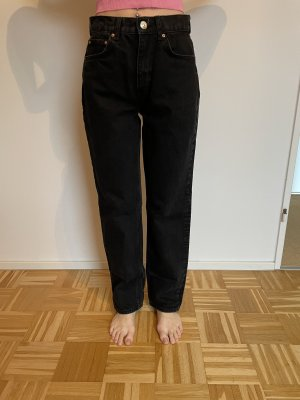 Gina Tricot Jeans taille haute noir