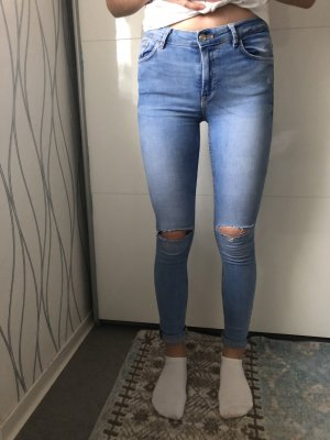 High Waist Jeans von Zara