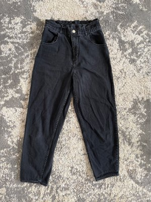 High waist Jeans von Zara schwarz