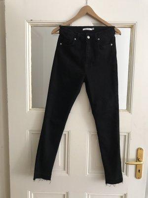 NA-KD 7/8-jeans zwart
