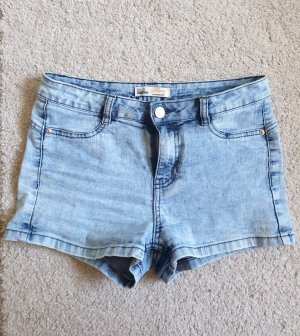 High-Waist Jeansshorts