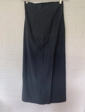 Chris's Stuff Falda de talle alto gris oscuro