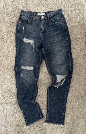 High Waist Ripped Jeans