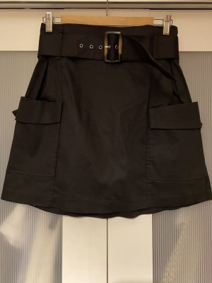 Reserved High Waist Skirt black
