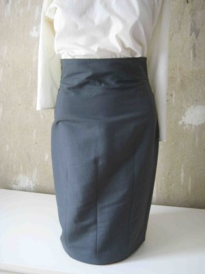 High Waist Rock von COS, grau - Business Look