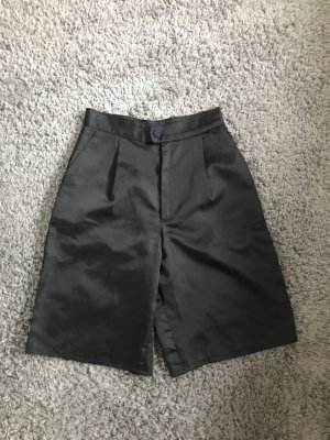 High Waist Satin Shorts