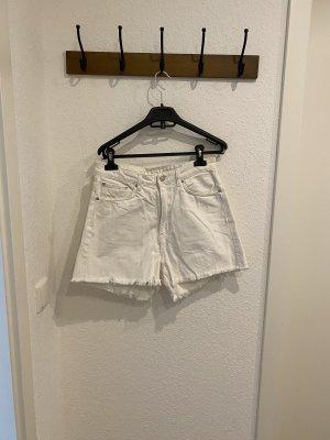 Weekday Shorts bianco sporco