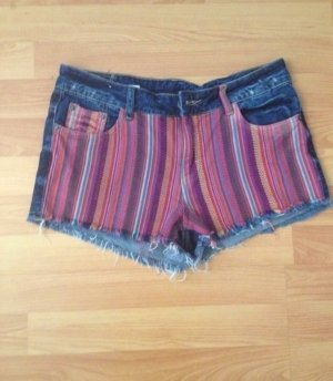 High Waist Shorts bunt, *Neu*