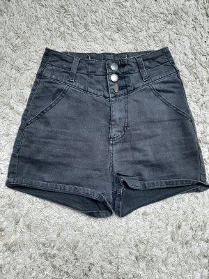 H&M High waist short zwart