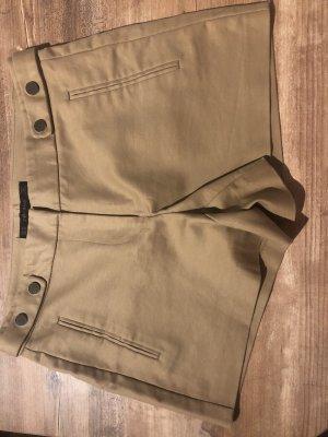 Zara Basic Hot Pants beige-camel