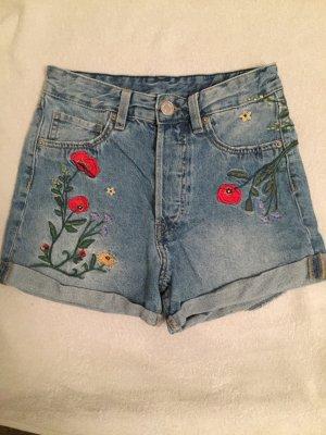 H&M High waist short veelkleurig