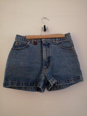 True Vintage High waist short blauw