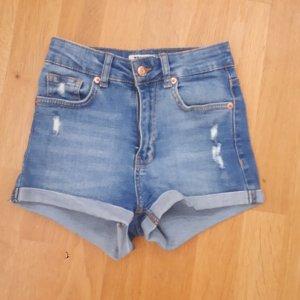 Tally Weijl High-Waist-Shorts azure
