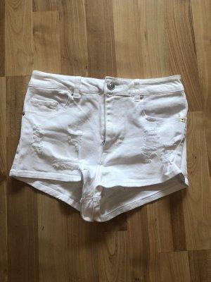 High Waist Shorts weiß H&M Neu