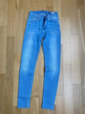 7 For All Mankind Skinny Jeans azure-light blue