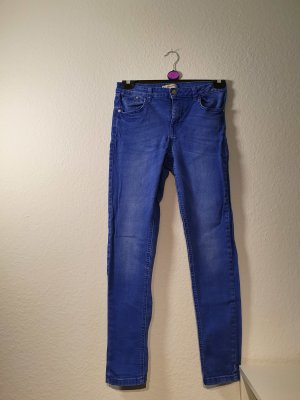 Clockhouse Hoge taille jeans blauw