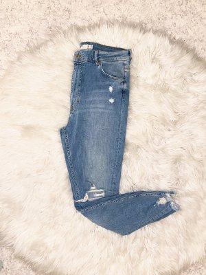 High Waist Skinny Jeans gr. 40