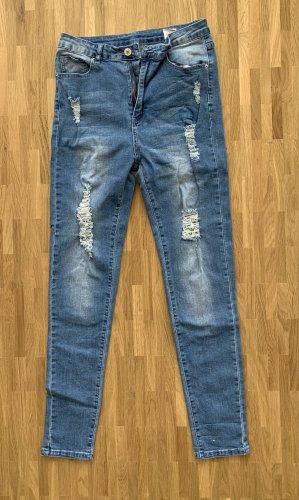 High Waist Skinny Jeans neu