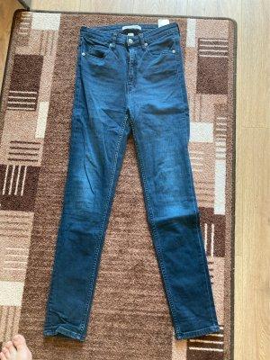 High Waist Skinny Jeans von Calvin Klein, Gr. W28, L30
