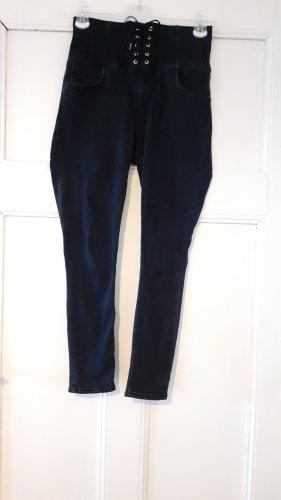 high waist skinny jeans von new look